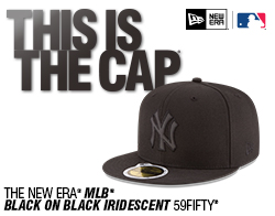 Shop the MLB Black on Black Iridescent