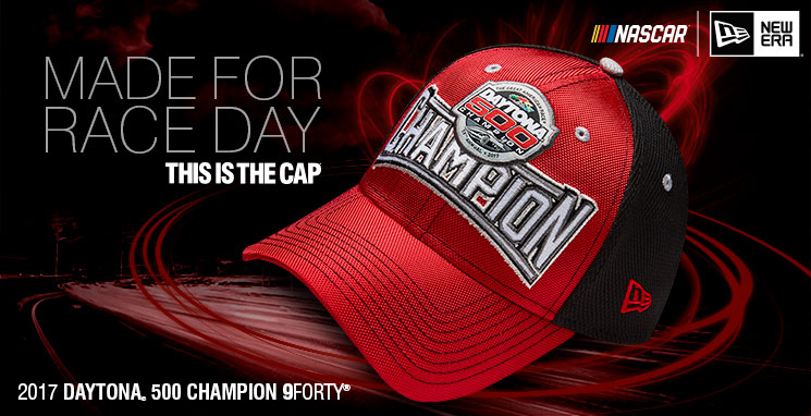 Shop Kurt Busch 2017 Daytona 500 Champion 9FORTY Cap