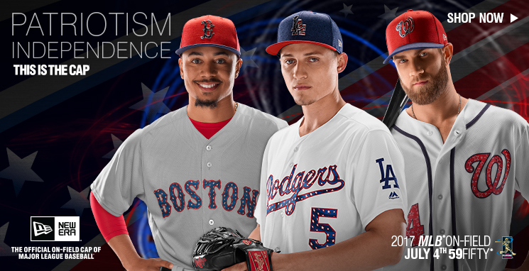 Shop the MLB July 4th Stars and Stripes Collection