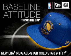 Shop NBA All Star Gold Snapback Cap