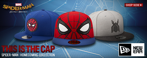 Shop the Spiderman Homecoming Collection