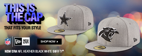 Shop the NFL Heather Black White