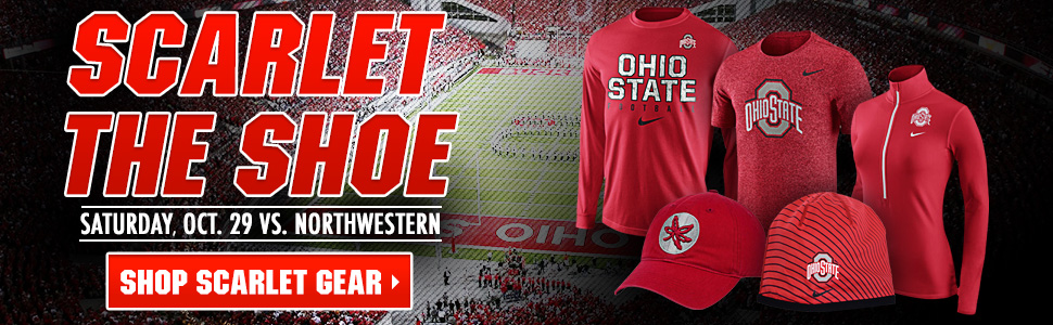 Shop Buckeye Scarlet Styles Now!
