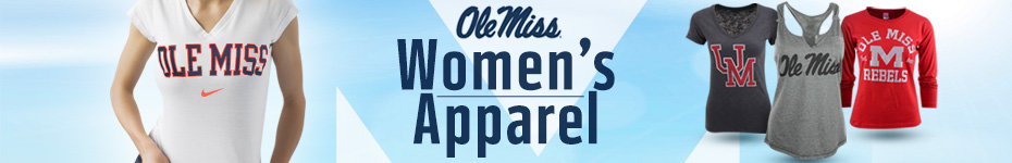 Shop Ole Miss Womens Apparel