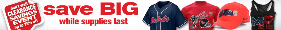 Shop Ole Miss Clearance Hats, Caps, Apparel and Novelties