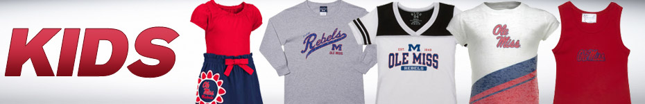 Shop Ole Miss Kids Apparel