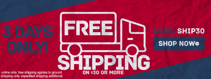Shop New Arrivals and Get Free Shipping on $30 Or More