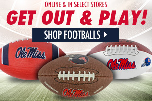 Get Out and Play with Ole Miss Footballs!