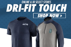 Shop New Seattle Dri-Fit Touch Apparel!