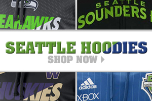 Shop Seattle Hoodies now!