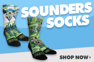 Shop Seattle Sounders Socks!