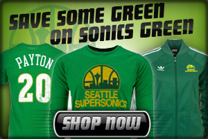 Buy Sonics Apparel Today!