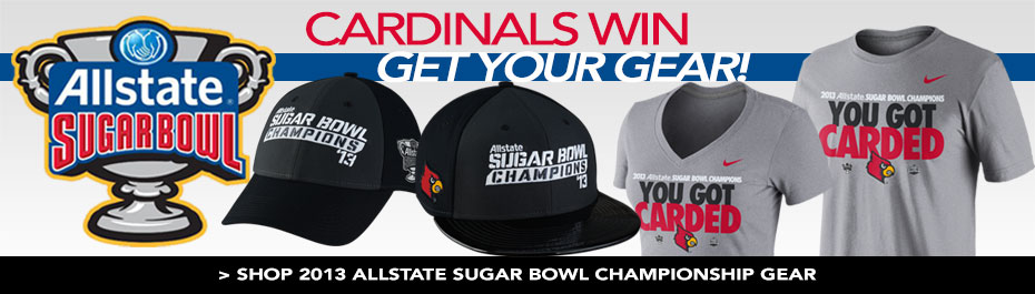Louisville Cardinals are Sugar Bowl Champs! Get Your Gear Now!