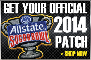 The Official 2013 All State Sugar Bowl Patch
