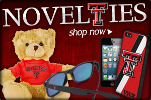 For fans of all ages! Shop Texas Tech Novelties now!