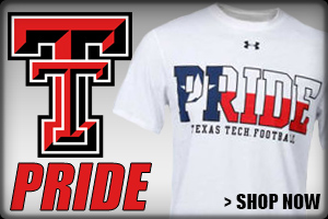 Shop Texas Tech Pride Apparel