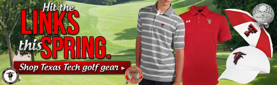 Get ready to hit the links! Shop Texas Tech Golf Gear!