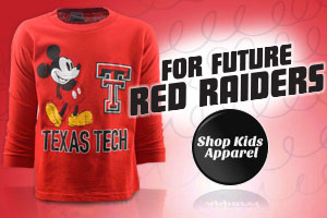 Shop Red Raiders Kids Apparel!