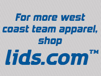 For more west coast apparel, shop lids.com.