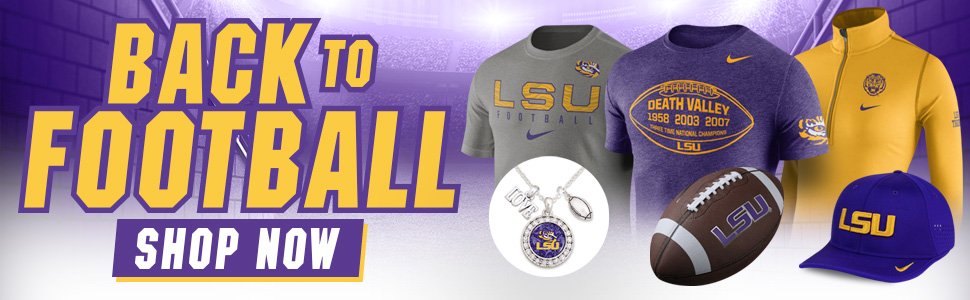 Shop LSU Football Gear!