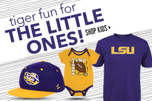 Shop new LSU Kids Apparel, Headwear and Fan Gear