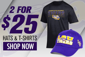 Shop LSU 2 for $25!