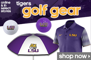 Shop LSU Golf Gear!