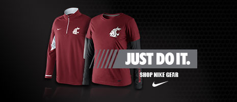 Just Do It. Shop Washington State Nike Gear