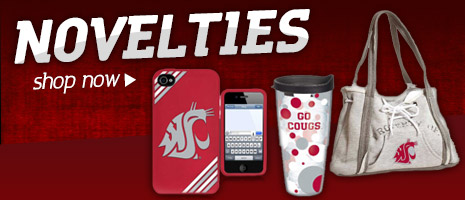 For fans of all ages! Shop Wazzu Gear Novelties Now!