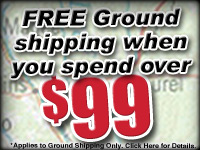 Free Ground Shipping with $99 Purchase