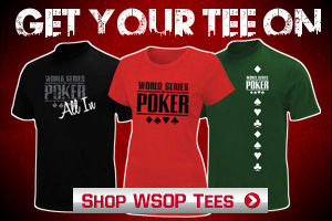 Shop WSOP T-Shirts
