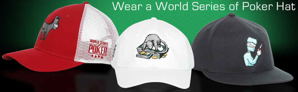Shop WSOP Hats Today