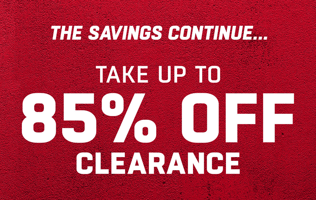 Take up to 85% Off Clearance