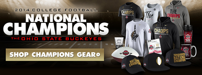 2014 College Football Champions Ohio State Buckeyes at Lids.com