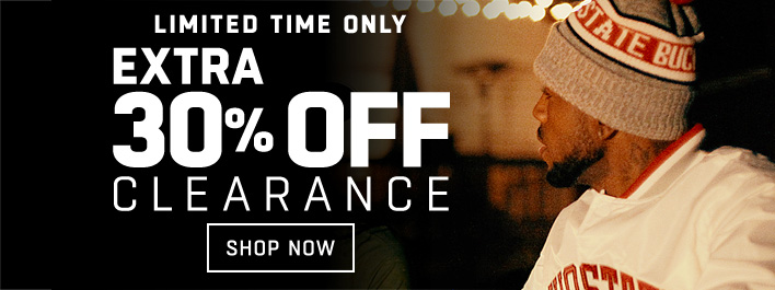 Shop an EXTRA 30% off Clearance!