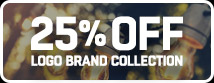 Shop 25% Off Logo Collection!