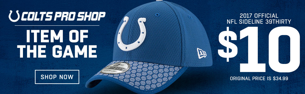 Shop Colts Item Of The Game!