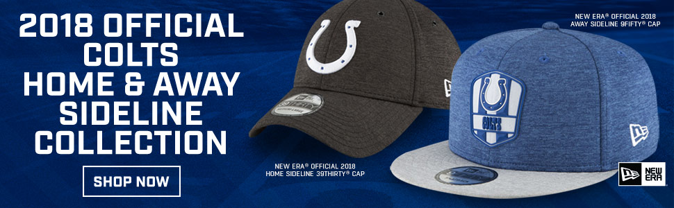 Shop 2018 Colts Sideline Collection!