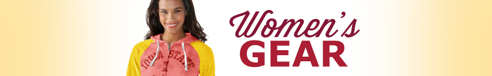 Shop Iowa State Womens Apparel and Headwear
