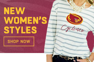 Shop ISU Women's Apparel!